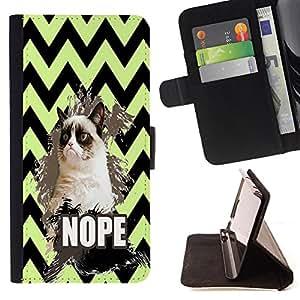 King Case - FOR HTC DESIRE 816 - I lose myself - Prima caja de la PU billetera de cuero con ranuras para tarjetas, efectivo Compartimiento desmontable y correa para la mu?eca