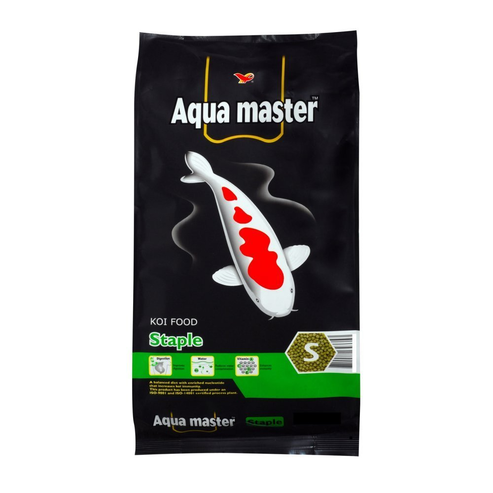 Aqua Master Staple Fish Food, 22-Pound Bag, Large