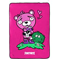 Fortnite Cuddle Team Blanket - Measures 62 x 90 inches, Kids Bedding - Fade Resistant Super Soft Fleece - (Official Product)