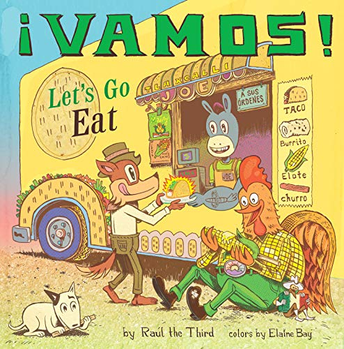 Book Cover: ¡Vamos! Let's Go Eat