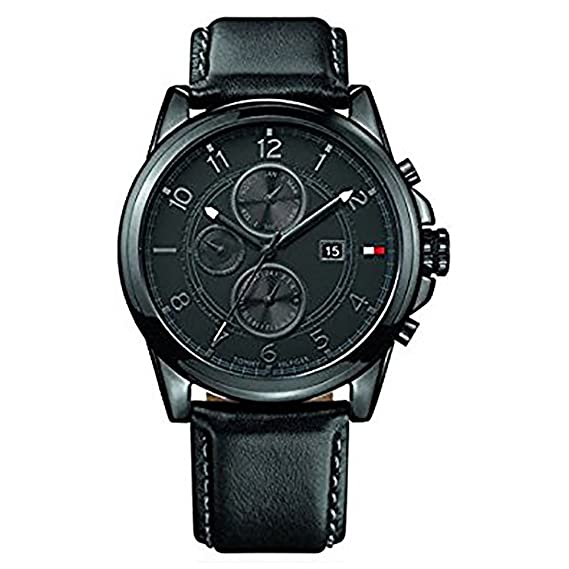 d02d2e10242c33 Buy Tommy Hilfiger Analog Black Dial Men s Watch - NATH1710295 Online at  Low Prices in India - Amazon.in