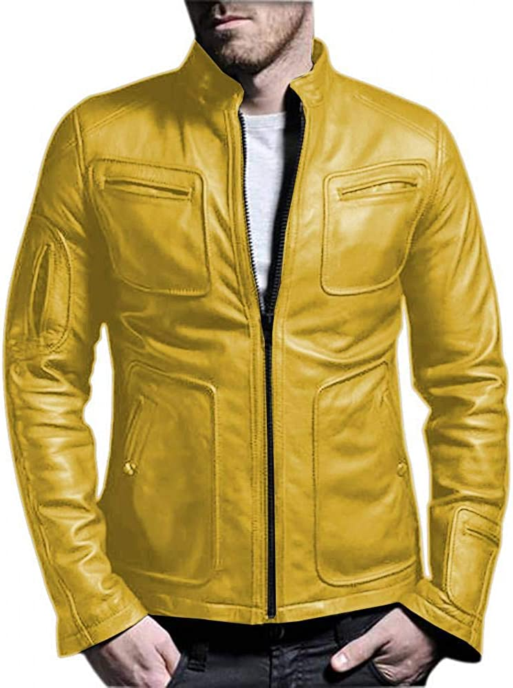 Black, Fencing Jacket Laverapelle Mens Genuine Lambskin Leather Jacket 1501133