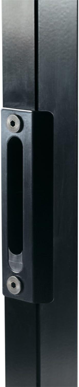 LOCINOX G/ÂCHE POUR SERRURES STYLE FER FORG/É Noir SPKZ-QF-40-9005