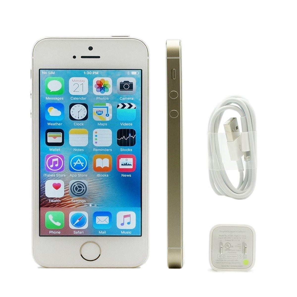 apple iphone 5s 32gb gold unlocked smartphone 5. Black Bedroom Furniture Sets. Home Design Ideas