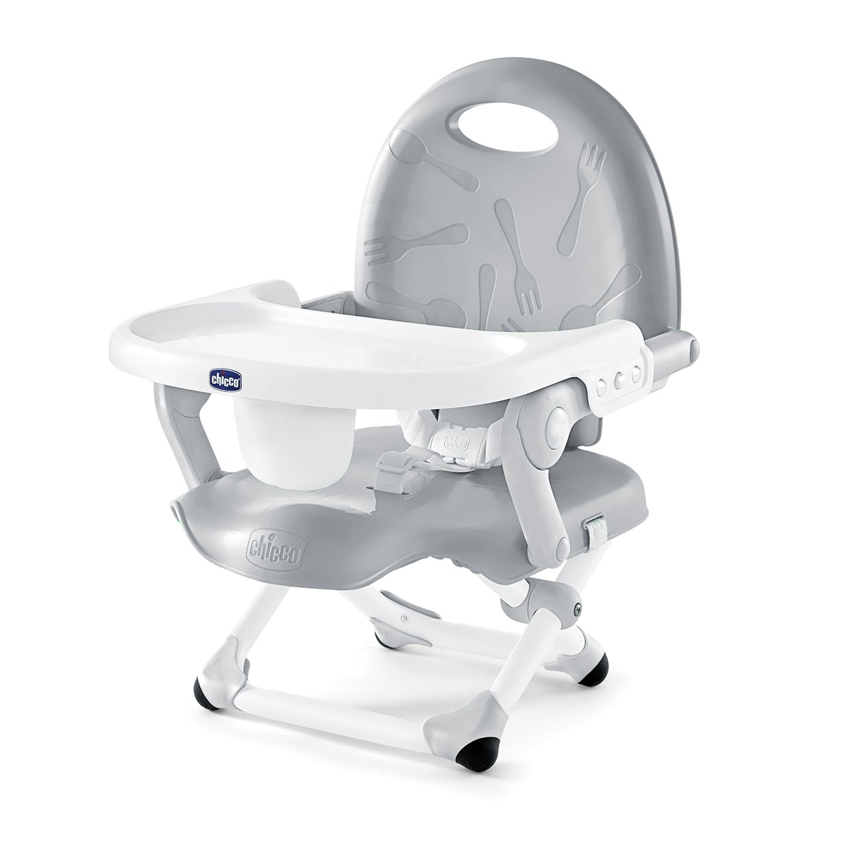 Chicco Pocket Snack Booster Seat, Grey by Chicco