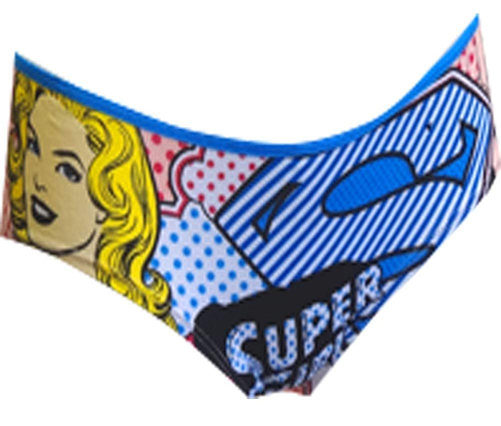 Briefly Stated Womens DC Comics Supergirl Pop Art Panty