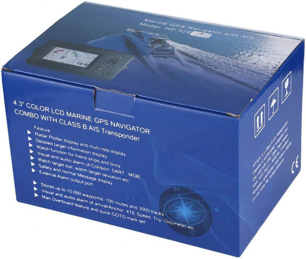 Garciasia Resistente al Agua Marina walkie Talkie de Doble Banda de Radio HF Marina transmisor-Receptor GPS Integrado Receptor de 50 Canales: Amazon.es: Deportes y aire libre