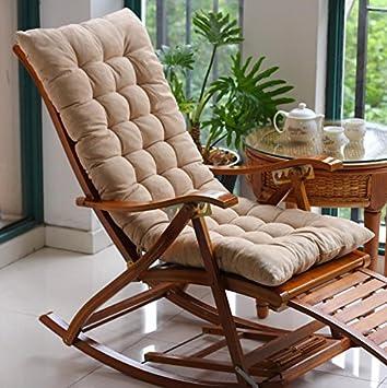 Silla de salón cojines silla mecedora cojines cojín asiento ...