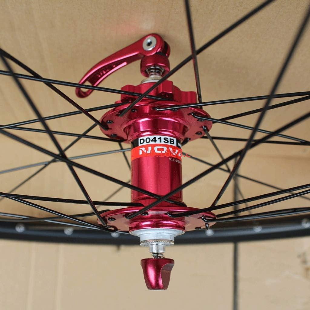 MZPWJD MTB Bike Wheelset 24 Inch Double Layer Rim Disc//Rim Brake Bicycle Wheel 8-10 Speed 32H
