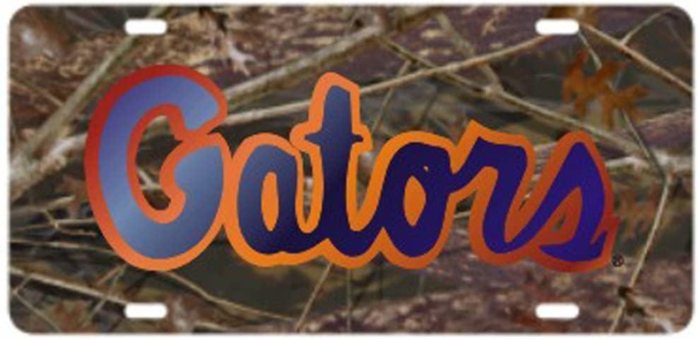 Gator Logo Craftique Florida Gators Orange Gator Logo Laser Cut License Plate