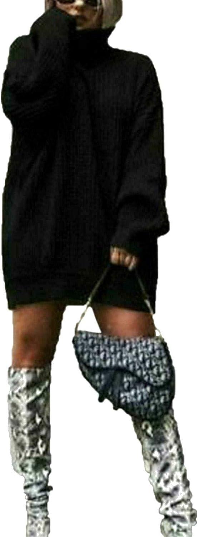 Lyzafashion. Vestido Tipo Polo de Punto Grueso con Cuello Alto ...
