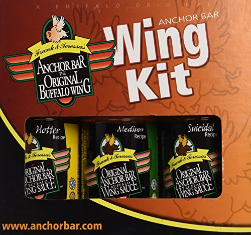 Frank & Teressa's Original Anchor Bar Gift Pack (Anchor Bar Buffalo Chicken Wing)