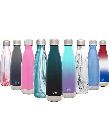 Simple Modern Wave Termo Botella de Agua - Acero Inoxidable 18/8, Doble Pared