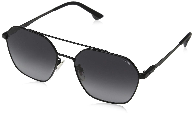 Police Vibe 2 Gafas de sol, Negro (Semi Matte Black/Grey ...