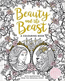the beauty and the beast colouring book macmillan classic colouring books amazoncouk gabrielle suzanne de villeneuve 9781509839360 books - Beauty And The Beast Coloring Book