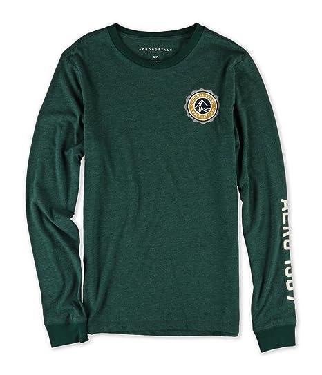 632615d9 Aeropostale Mens Original Brand Patch Embellished T-Shirt 383 XS ...