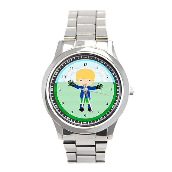blue5 acero inoxidable reloj fútbol mejores relojes de acero inoxidable: Amazon.es: Relojes