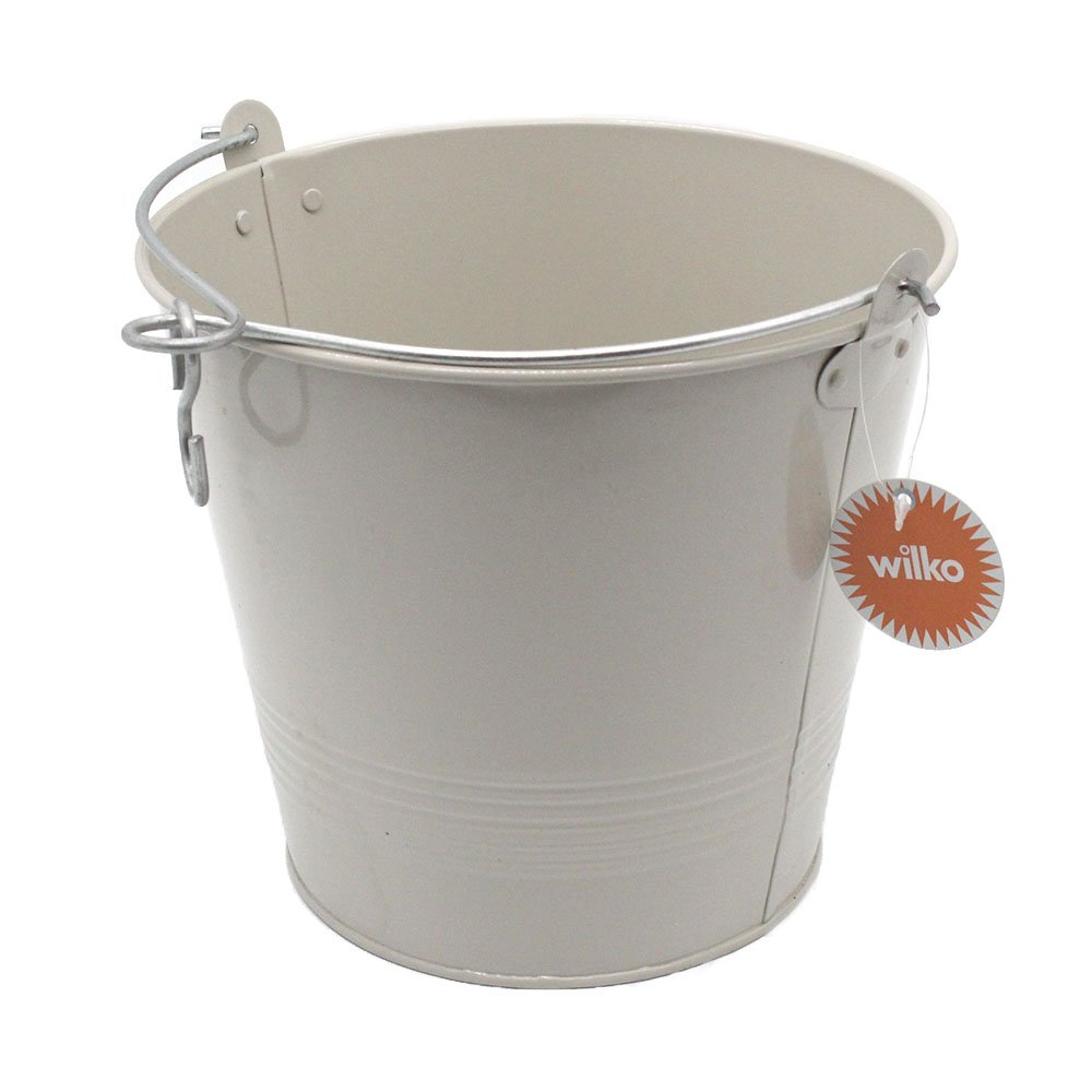 Enamel Bucket 2.5 gal (rust proof) for Cleaning and Holding Ice pack of 6