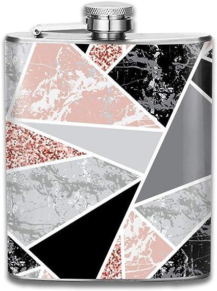 Regalo de formas geométricas de mármol para hombres Frasco de ...