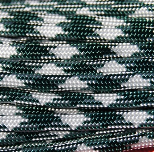 Mr. Paracord ™ Shamrock Frost 550 Paracord Parachute Cord Type III Military Spec 7 Strand 100FT