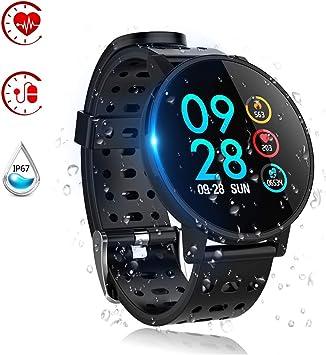 Reloj Inteligente, Smartwatch Pulsera Inteligente Impermeable IP67 ...