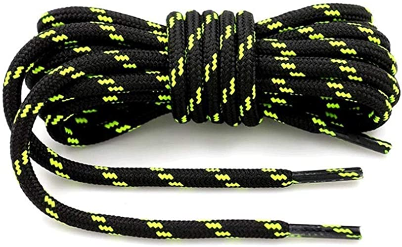 New Sneakers Boots Shoe Laces Shoelaces Round Rope Hiking Athletic String 120cm
