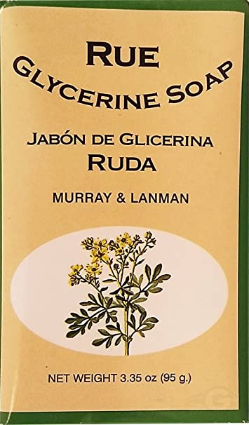 Rude & Gliceryn Soap 3.3 oz - Jabon de Ruda y Glicerina (Pack of 1