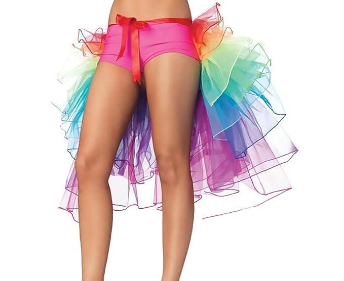 Laisla fashion Faldas Mujer Clásico Especial Tutu Irregular Asimétrica Multicolor Cosplay Ballet Danza Fiesta Falda Tul