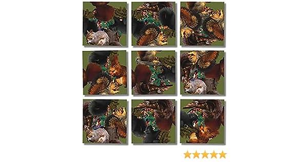 Amazon.com: Scramble Squares Puzzle Squirrels: Toys & Games
