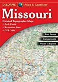 Missouri Atlas & Gazetteer by DeLorme Publishing front cover
