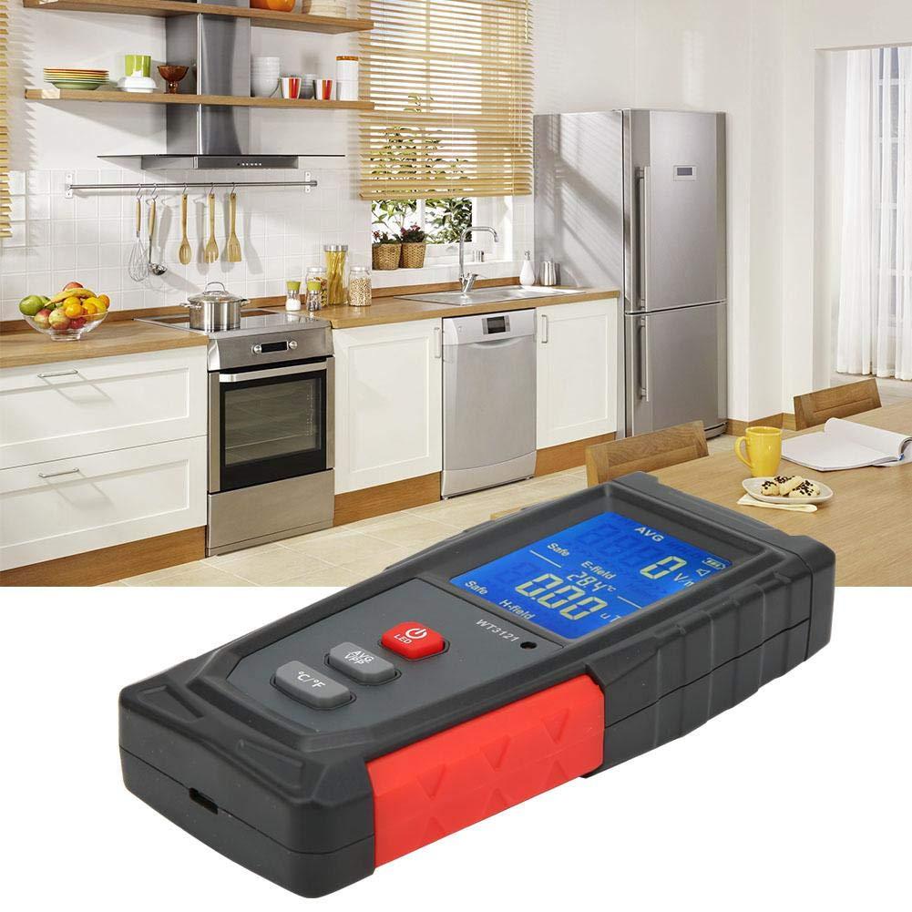 D/étecteur de Rayonnement /Électromagn/étique et Magn/étiques LCD EMF Testeur Compteur T/él/éphone Ordinateur D/étecteur de Radiations /Électromagn/étiques