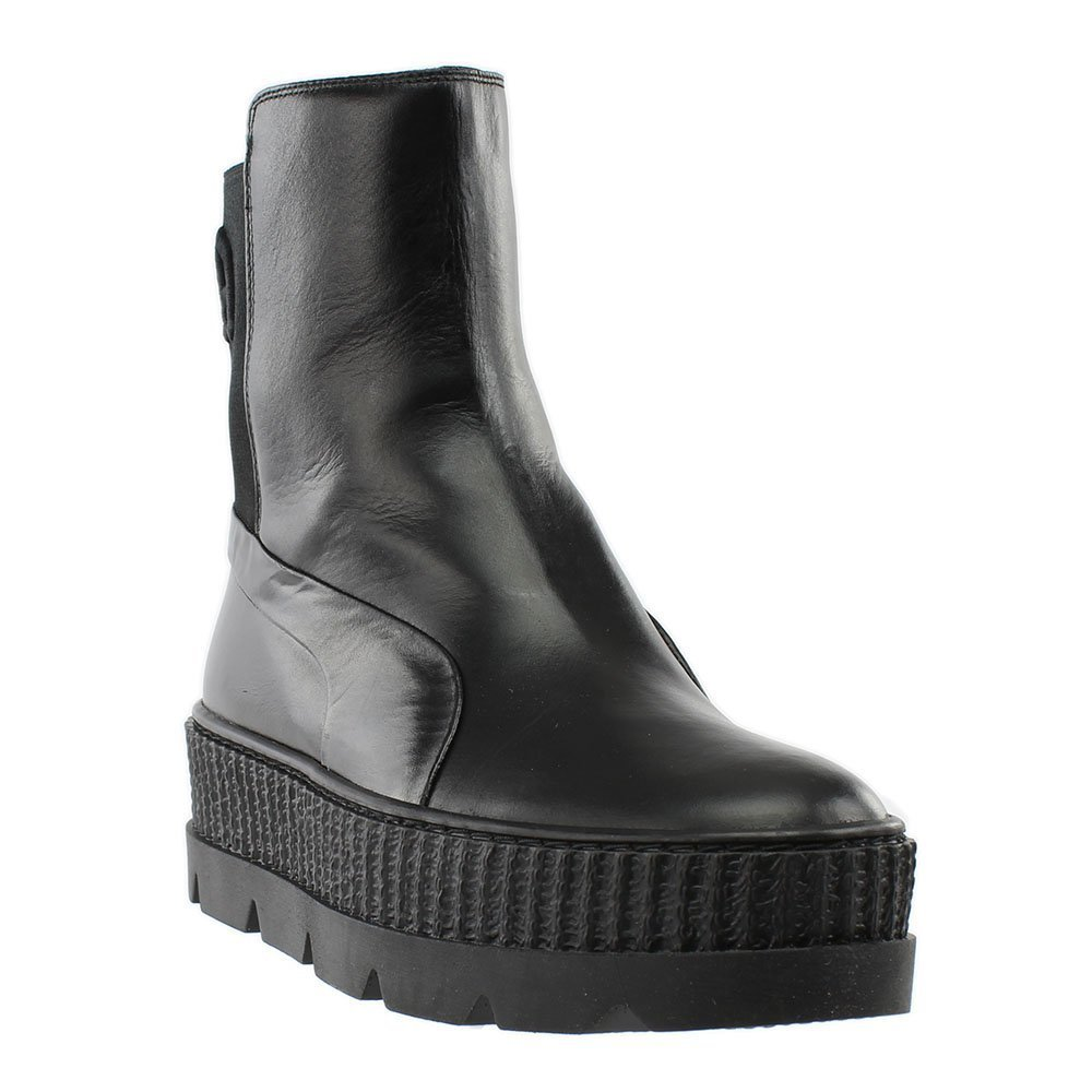 PUMA Unisex x Fenty by Rihanna Chelsea Sneaker Boot Black 10 Women/+D409:D437 8.5 Men M US