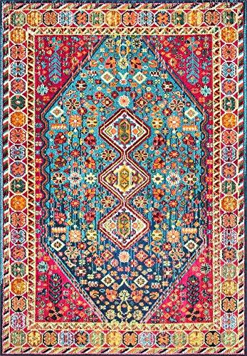 nuLOOM Meadow Vintage Vibrant Area Rug, 5 3 x 7 7 , Multi