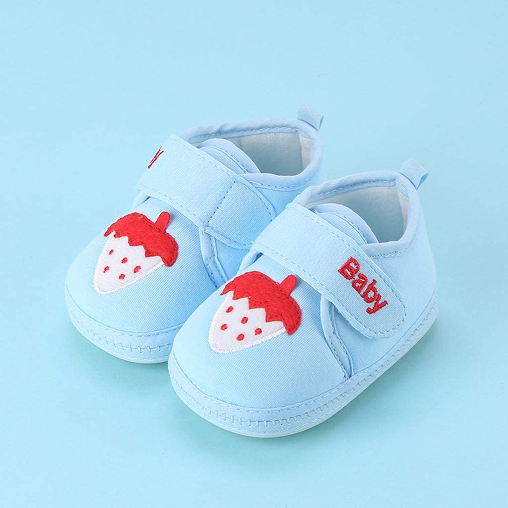 SIN vimklo Childrens Baby Cartoon Print Sneaker Single Shoes