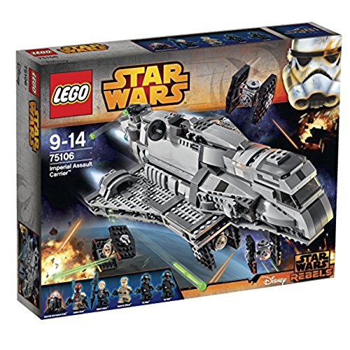 Lego Star Wars Imperial Assault Carrier 75106 Building Kit