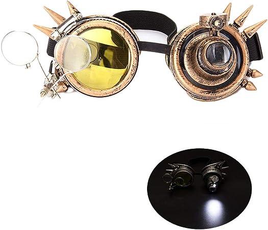 Steampunk, Gafas de Soldadura, Accesorio de Fiesta, Disfraz de ...