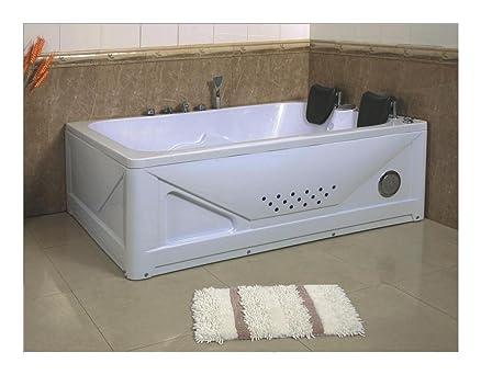 GD TRADE - Vasca da bagno idromassaggio per 2 persone da 170x120 ...