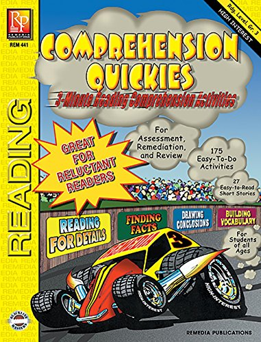 Comprehension Quickies (Reading Level 3) | Reproducible Activity Book
