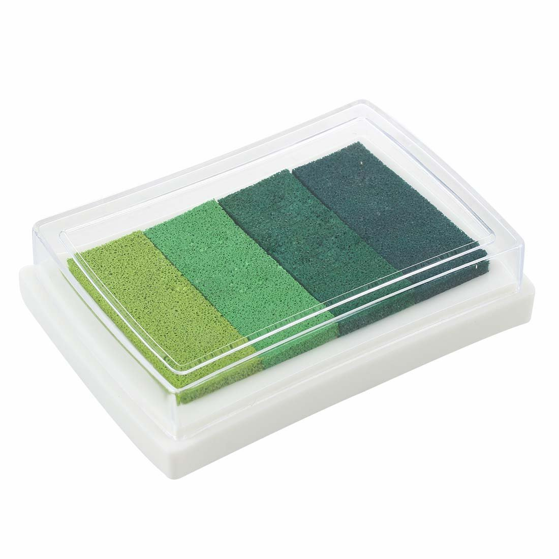 Hilai Inkpad Craft Multi Gradient Green 4 x Colors Ink Stamp Pad Oil Based