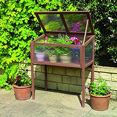 "Gardman 7651 Raised Wooden Cold Frame, FSC Certified Timber Frame, 20"" Long x 36"" Wide x 42"" High from World Source Partners"