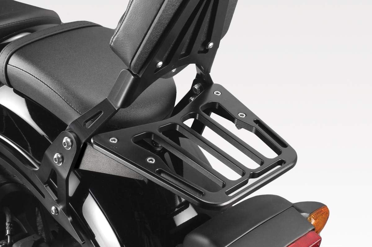 Accessori De Pretto Moto - 100/% Made in Italy DPM Race Rear Luggage Rack - Aluminum Back Shelf CMX500 Rebel 2017//19 Easy to Install S-0483B