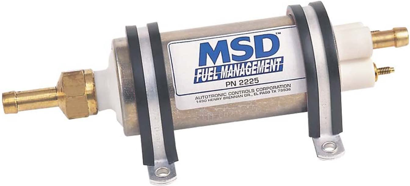 MSD 2225 High Pressure Electric Fuel Pump (43-GPH)
