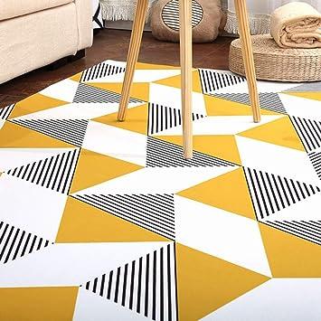 Amazon.de: CarPET Teppiche Wohnzimmer Moderne Geometrische ...