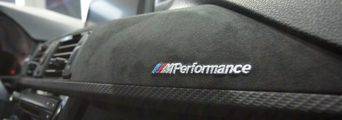 EuroActive BMW OEM F32 4 Series Coupe M Performance Carbon Fiber & Alcantara Interior Trim