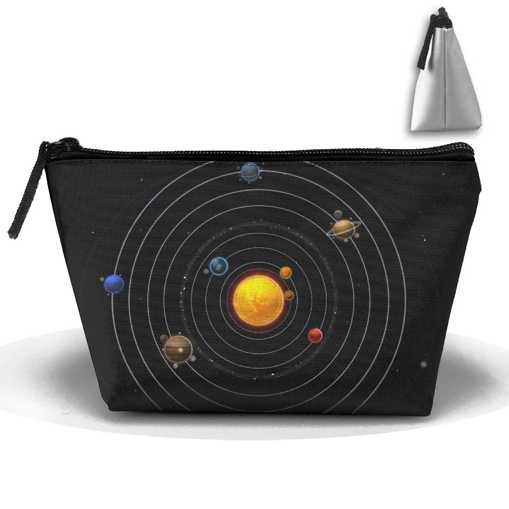 WQWSVX Solar System Fashion Travel Bag Trapezoid