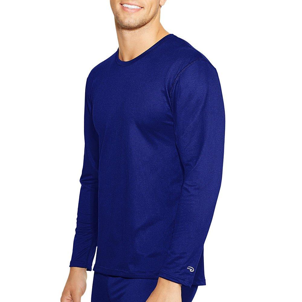 Champion Mens Varitherm Long-Sleeve Thermal Shirt(KMC1)