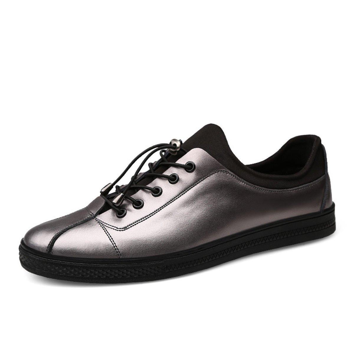 Mode Schuhe Lässig Wilden Atmungsaktive Koreanische Schuhe Mode Stretch-Tuch Schuhe Silver ad5e63