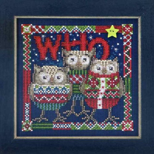 Who Trio - Beaded Cross Stitch Kit MH143306 - Buttons & Beads 2013 (Beaded Trio)