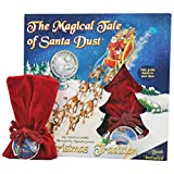 Magical Tale Of Santa Dust 32 Page Christmas Holiday Book & Magic Red Pouch