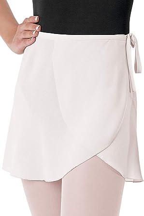Ballet wrap skirt grey